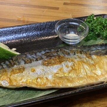 大片薄鹽鯖魚(單片)  240G - 2片組