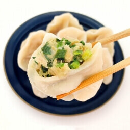 韭菜豬肉水餃