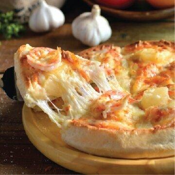 鮮蝦鳳梨披薩 (9吋/厚皮)