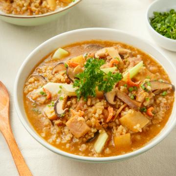 燕麥豬肉鹹粥(三入組)
