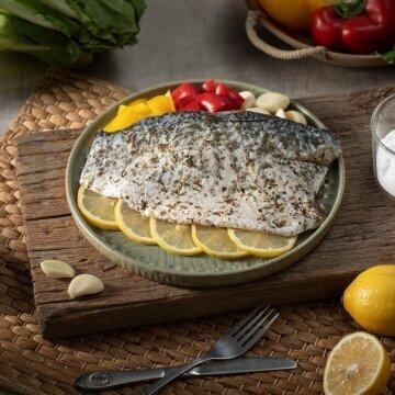 無刺義式香料鱸魚排200g-300g